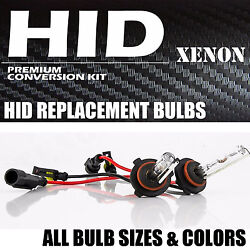 HID REPLACEMENT BULBs ALL COLORs H11 9006 9005 H4 H7 9007 H13 H10 880 H3 H1 5202 $12.99