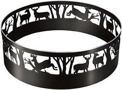 Large Camp Fire Ring Deer Design Portable Outdoor Camping Pit Hunting Wood Coal