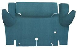 1965 1966 Ford Mustang Convertible Floor Only Loop Carpet Trunk Mat Kit 1pc $149.95