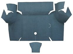 1967 1968 Ford Mustang Coupe Trunk Kit Floor Only Nylon Carpet Trunk Mat 2pc $144.95