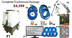 Electric Truckmount Carpet & Grouted Tile Cleaning - $0 Down $121m
