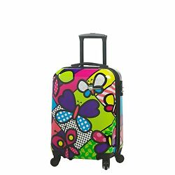 Hontus Butterflies Hardside Carry-On Contemporary One Size