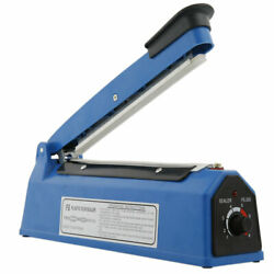 12quot; Heat Sealing Hand Impulse Sealer Machine Poly Free Element Plastic Sealer $18.89