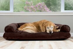 FurHaven Quilted Pillow Sofa Dog Bed Pet Bed $21.99