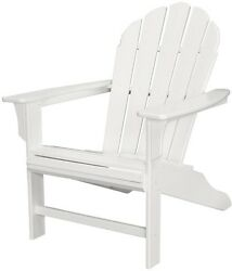Outdoor Patio Furniture Chair Dining Garden Yard Lawn Classic White Adirondack