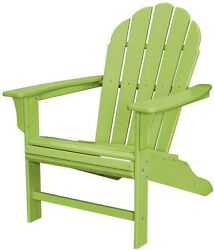 Outdoor Patio Furniture Set Dining Garden Yard Lawn TrexnLime Adirondack Chair