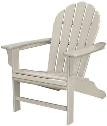 Outdoor Patio Furniture Chair Dining Garden Yard Lawn Trex Sand Adirondack Home