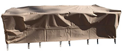 Dola All Weather Rectangle Outdoor Dining Patio Furniture Cover Fits 99 Inches x