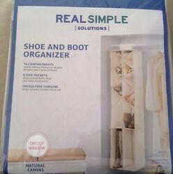 NIP Real Simple Solutions Shoe And Boots Organizer 12