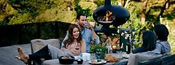 Portable Wood Fired Pizza Oven Grill BBQ Outdoor Mobile Backyard Home Yard Pie