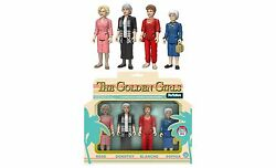 RARE FUNKO GOLDEN GIRLS REACTION SET NEW!  MINT CONDTION 2016 COMICON EXCLUSIVE