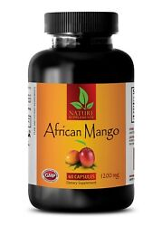 Weight Loss Supplements AFRICAN LEAN MANGO 1200 Detox And Cleanse 1 Bottle $17.93