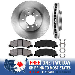 Front Rotors Ceramic Pads For Chevy Impala Monte Carlo Buick Lucerne V6 CX CXL $67.00