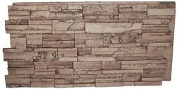 Faux Stone Panel 24x48in Stack Superior Building Ledger Natural Real Look Feel