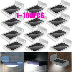 LOT 100P 24 LED Solar Power Motion Sensor Security Lamp Outdoor Waterproof Light
