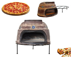 Talavera Tile Clay Pizza Stone Oven Brick Wood Burning Outdoor Cooking