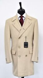 NEW KITON TOP COAT - CASHMERE AND VICUNA - sz 50 eu 40 us SCARCE KIG102