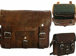 10 Bags bulk Sell Side Bag Motorcycle Tool Bags Sportscaster Leather Pouch Brown