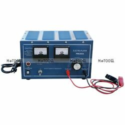 Silver Gold Plating Platinum Machine Jewelry Plater Electroplating Rectifier 30A