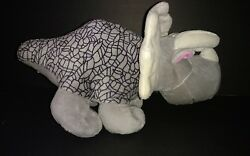 Circo Grey Dinosaur Triceratops Plush Soft Toy Stuffed 12quot; Target Gray $9.95