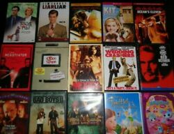 Lot of 100 Used ASSORTED DVD Movies 100 Bulk DVDs Used DVDs Lot Wholesale