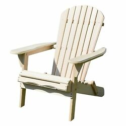Brand New Merry Garden Foldable Adirondack Chair