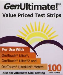 Brand New GenUltimate Test Strips 100 Count