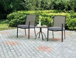 Mainstays Patio Furniture Sears Target Costco 3-Piece BIstro Set Chairs