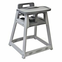 CSL FOODSERVICE AND HOSPITALITY 851DGY Gray Plastic High Chair Tray