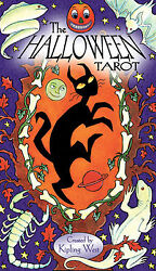 Halloween Tarot Deck Cards NEW IN BOX US Games 78 Cards w Booklet $23.99