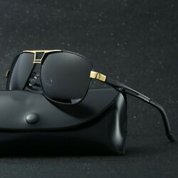 Style Men#x27;s Polarized Pilot Sunglasses Outdoor Driving Sun Glasses Sport Eyewear $10.99