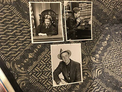 3-for-1 HARRY ANDERSON 7x9-INCH BLACK-AND-WHITE PROMO PHOTO LOT Night Court NBC