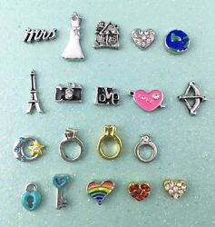 WEDDING AND HONEYMOON charms for your floating lockets