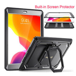 For iPad 8th Gen 10.2#x27;#x27; 2020 360 Rotating Case Built in Screen Protector $18.99