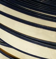 Pin stripe vinyl roll 200 ft strap fence plastic privacy lawn chairs straps BLUE