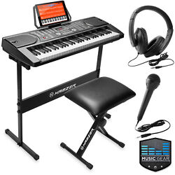61 Key Digital Music Piano Keyboard Portable Electronic Musical Instrument $119.99