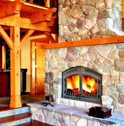 NEW WOOD FIREPLACE - NAPOLEON NZ6000 - PKG DEAL COMPLETE W FACE