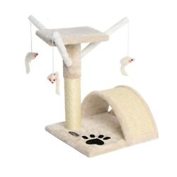 17'' Cat Tree Scratching Condo Furniture Scratch Post Pet Play Kitty Toy House