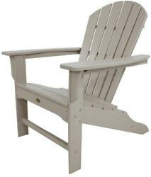 Patio Adirondack Chair Folding Outdoor Armchair Comfortably Contoured Seating