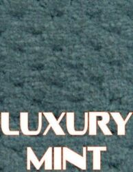 Outdoor Marine Boat Carpet - 24 oz - 8.5' x 30' - Color: LUXURY MINT GREEN