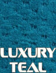 Outdoor Marine Boat Carpet - 24 oz - 8.5' x 25' - Color: LUXURY TEAL