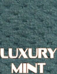 Outdoor Marine Boat Carpet - 24 oz - 8.5' x 25' - Color: LUXURY MINT GREEN