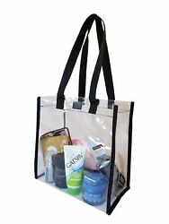Clear Tote Bag Bags Crystal PVC Women Handbag Shoulder Fashion Transparent Beach $5.98