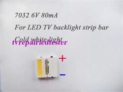 100pcs 7032 Smd Lamp Beads 6v Specially For Samsung Led Tv