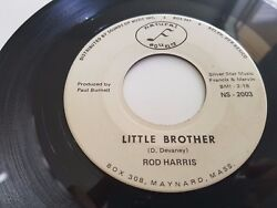 Rod Harris ‎Little Brother USA 7