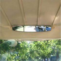 Golf Cart Rear View Mirror EZGO YAMAHA Club Car 16.5 Extra Wide Panoramic View $23.98