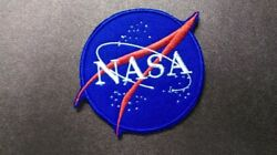 United States NASA Astronaut Space Center Embroidered Iron  Sew On Patch Badge