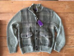 Ralph Lauren Purple Label Cashmere Sweater - New With Tags Mens XL - MSRP $2495