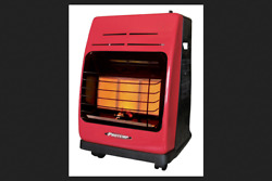 Protemp Propane Radiant Portable Heater 18000 BTU 450 sq. ft. Yellow