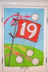 NEW! DECORATIVE FLAG 19th HOLE~FOR INDOOR OR OUTDOOR USE~GREAT FOR ANY GOLFER!
